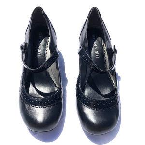 Madden Girl 6.5 Black Mary Jane Kitten Heels